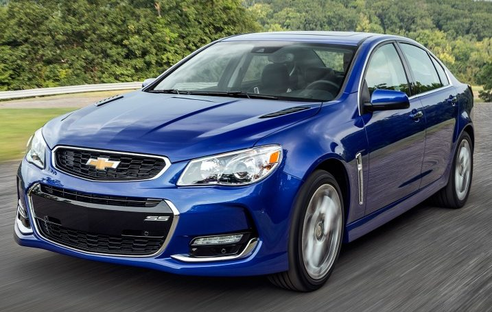 2017 Chevrolet SS Sedan Regency Leasing